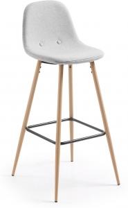 Барный стул Nilson 47X48X101 CM светло серый