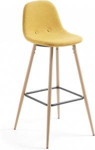 Барный стул Nilson 47X48X101 CM желтый
