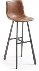 Барный стул Trac 43X55X112 CM коричневый
