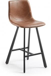 Барный стул Trac 43X55X92 CM коричневый