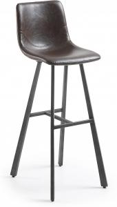 Барный стул Trac 43X55X112 CM тёмно коричневый