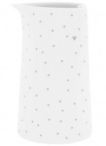 Молочник White Dots 7X7X12 CM