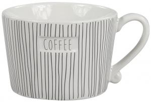 Кружка White Stripes Coffee Black 300 ml