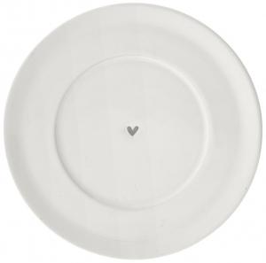 Блюдце White Нeart Grey Ø15 CM