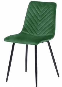 Стул Clifford 44X55X89 CM велюр зелёный