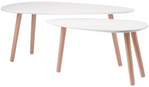 Набор столиков Ashley 100X50X40 / 70X35X35 CM