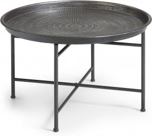 Приставной столик из метала Adaline 65X65X40 CM