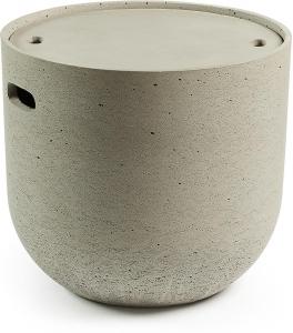 Столик из бетона со съемной крышкой Rhette 49X45X45 CM