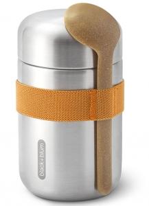 Термос для еды Food Flask B 400 ml оранжевый