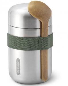Термос для еды Food Flask B 400 ml оливковый