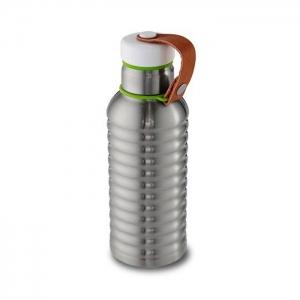 Фляга box appetit стальная/зеленая, 500 мл