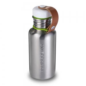 Фляга box appetite стальная/зеленая, 350 мл