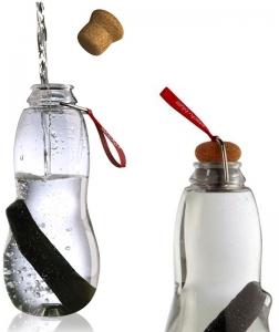 Эко-бутылка eau good с фильтром красная