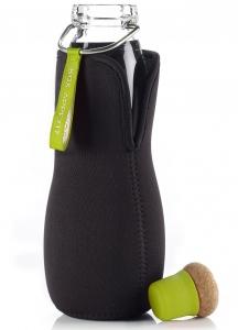 Эко-бутылка Eau Good Glass с фильтром 600 ml лайм