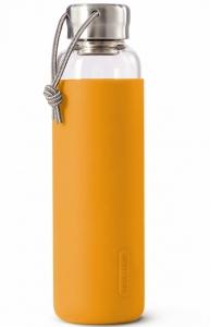 Бутылка для воды стеклянная 600 ml оранжевая