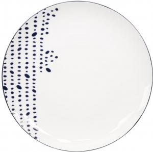 Тарелка Bleu Ø27 CM Pebble