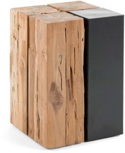 Вспомогательный столик из тика Kwango 30X30X44 CM