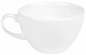 Чашка чайная фарфоровая White 220 ml
