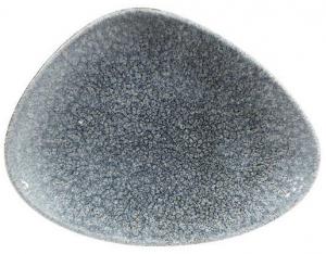 Тарелка треугольная Raku Topaz Blue 20X15 CM