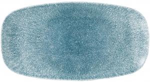 Сервировочная тарелка Raku Topaz Blue 30X15 CM