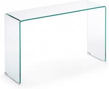 Консольный столик из закалённого стекла Burano 125X40X78 CM
