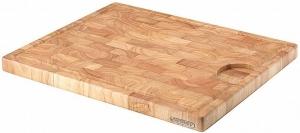 Разделочная доска каучуковое дерево 42X34 CM