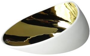 Тарелка фарфоровая Jomon Gold 18X14X9 CM