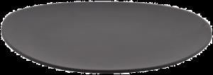Плоская тарелка Shell Line Dinner Beltz 28X29 CM графитовая
