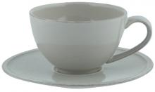 Чайная пара Friso 260 ml серая