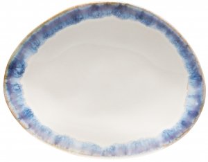 Тарелка Brisa Pao Oval 15X12 CM azul