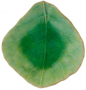 Блюдце Riviera Leaf 11X10 CM