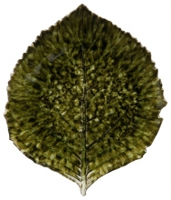 Тарелка Riviera Hydrangea leaf 22X19X3 CM