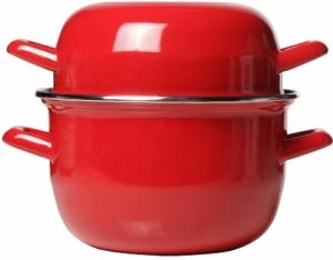 Кастрюля Mussel Pot 2.8L красная