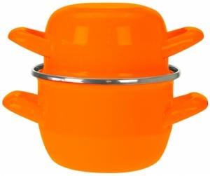 Кастрюля для мидий Mussel 0.9 L оранжевая