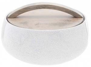 Чаша с деревянной крышкой Perseus 20X20X9 CM