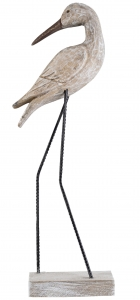 Декоративная птица Vogel Natuur 14X6XH37 CM