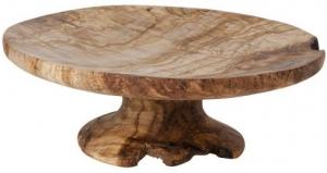 Тортовница из оливкового дерева Organic Wood Ø30 CM