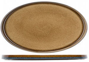Овальное блюдо Quintana 31X19 CM amber