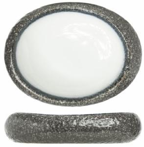 Овальная тарелка Sea Pearl 24X21X5 CM