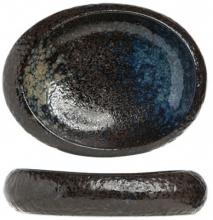 Овальная тарелка Black Yoru 24X21X5 CM