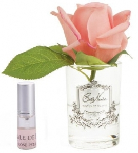 Ароматизированная роза Rose Bud white peach 8X8X14 CM