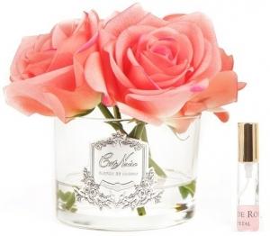 Букет из 5 роз ароматизированный Rose white peach