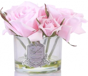 Букет из 5 роз ароматизированный Rose french pink 17X17X17 CM
