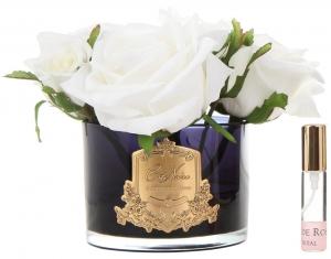Букет из 5 роз ароматизированный Rose Ivory 17X17X17 CM