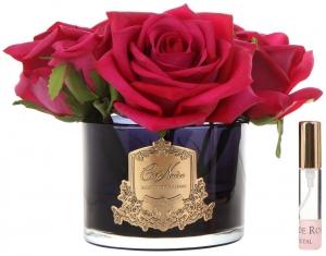 Букет из 5 роз ароматизированный Rose carmine red 17X17X17 CM