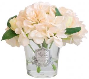 Гортензии с бутонами роз ароматизированные Hydrangeas Rose Buds 17X17X21 CM champagne