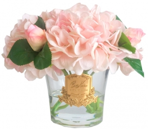 Гортензии с бутонами роз ароматизированные Hydrangeas Rose Buds 17X17X21 CM pink blush