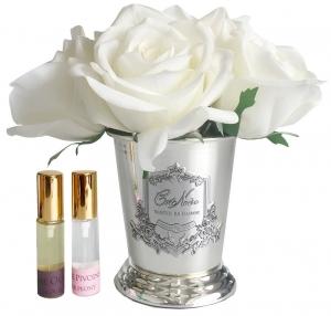 Букет роз ароматизированный Rose Bouquet Ivory White 17X17X21 CM