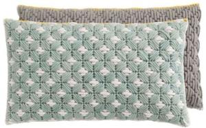 Декоративная подушка Silai Cushion 60X35 CM серо-голубая