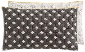 Декоративная подушка Silai Cushion 60X35 CM черно-белая